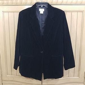 Vintage Garland Black Blazer, sz 38, Made in Japan